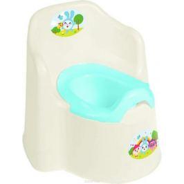 Little Angel Горшок детский Little King Малышарики цвет молочный