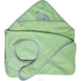 Polini Полотенце-фартук детское Зайки цвет зеленый