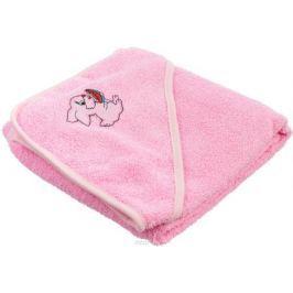 Baby Nice Полотенце детское Уголок Зайчик цвет розовый