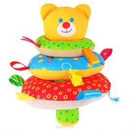 Мякиши Мягкая игрушка-пирамидка Мишка