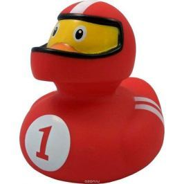 Funny Ducks Игрушка для ванной Уточка Гонщик