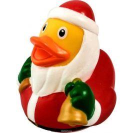 Funny Ducks Игрушка для ванной Уточка Дед Мороз