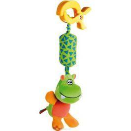 Canpol Babies Игрушка подвесная с погремушкой Бегемот