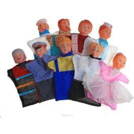 Русский стиль Набор мягких игрушек на руку Мы в профессии играем 9 персонажей