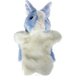 Sima-land Мягкая игрушка на руку Заяц цвет голубой, белый