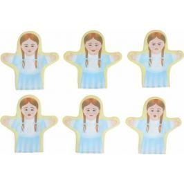 Sima-land Набор кукол на руку Эмоции Девочки 6 шт