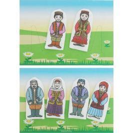 Наивный мир Набор пальчиковых кукол Семья татарская