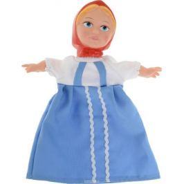Sima-land Мягкая игрушка на руку Аленушка цвет платья голубой