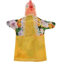 Sima-land Мягкая игрушка на руку Курица цвет желтый 722654