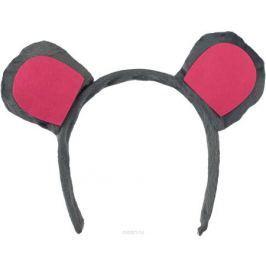 Partymania Ободок детский Веселые зверята Мышь Дизайн 2