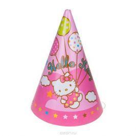 Веселая затея Колпак Hello Kitty 8 шт