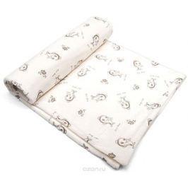 Сонный гномик Плед для новорожденных Капелька цвет слоновая кость
