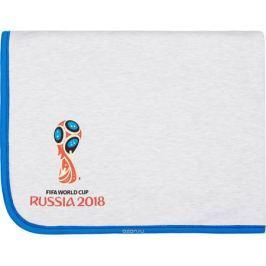 2018 FIFA World Cup Russia Плед детский цвет синий 120 х 80 см