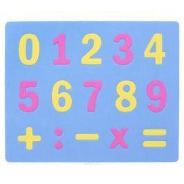 Апплика Мозаика Мягкие цифры цвет основы голубой