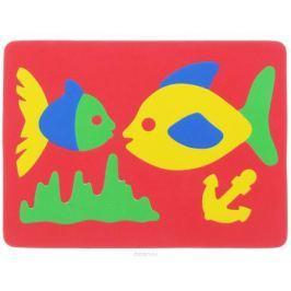 Фантазер Пазл для малышей Рыбки цвет основы красный