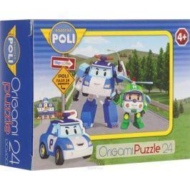 Оригами Мини-пазл Robocar Poli Поли и Хэлли