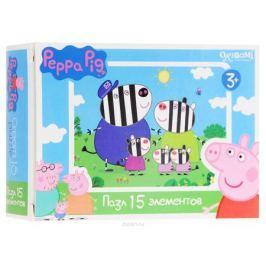 Оригами Мини-пазл Peppa Pig Зебры 01593