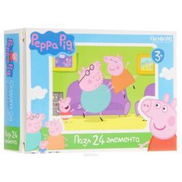 Оригами Мини-пазл Peppa Pig Игры у дивана 01594