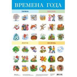 Дрофа-Медиа Обучающий плакат Времена года