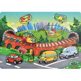 Фабрика Мастер игрушек Рамка-вкладыш Транспорт