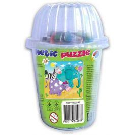 Vladi Toys Мягкие магнитные пазлы в стакане Зверята