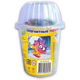 Vladi Toys Мягкие магнитные пазлы в стакане Смешарики Ёжик