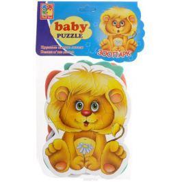 Vladi Toys Мягкие пазлы Baby puzzle Зоопарк
