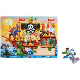 Лесная мастерская Пазл для малышей Пиратский корабль