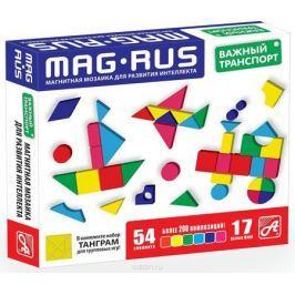 Mag-Rus Мозаика магнитная Важный транспорт