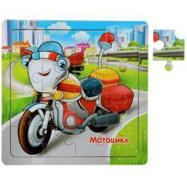 Лесная мастерская Пазл для малышей Мотоцикл
