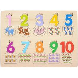Step Puzzle Пазл для малышей Веселая математика Посчитай-ка!