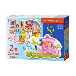 Castorland Пазл для малышей Бал принцесс 2 в 1