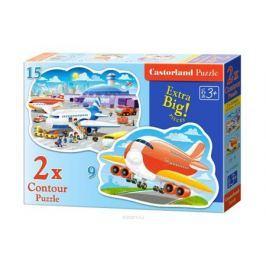 Castorland Пазл для малышей Аэропорт 2 в 1