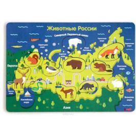 Игрушки Тимбергрупп Рамка-вкладыш Животные России