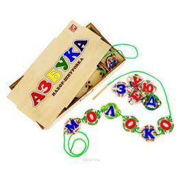Анданте Обучающая игра Набор-шнуровка Азбука