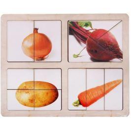 Smile Decor Обучающая игра Разрезные картинки Овощи-2