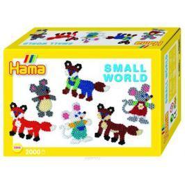 Hama Термомозаика Midi Маленький мир Мышка Лиса