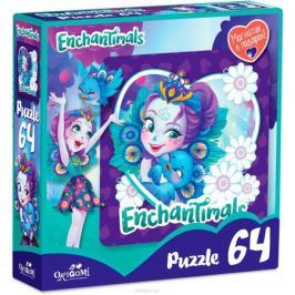 Enchantimals Пазл для малышей Пэттер Павлина и Флэп