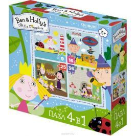Ben&Holly Пазл для малышей Маленькие истории 4 в 1