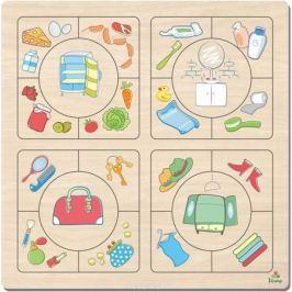Фабрика Мастер игрушек Пазл для малышей Наведи порядок