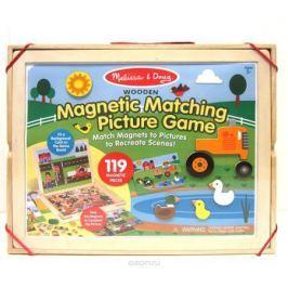 Melissa & Doug Магнитные игры Набор магнитов с фоном