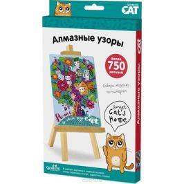 Origami Cat Алмазные узоры Sweet Cat's Home