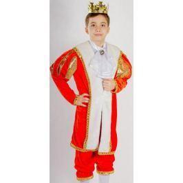 Карнавалия Карнавальный костюм для мальчика Король размер 28