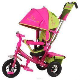 Beauty Велосипед трехколесный цвет зеленый розовый BA2GP