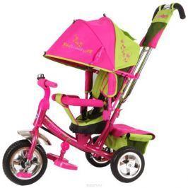 Beauty Велосипед трехколесный цвет зеленый розовый B2GP