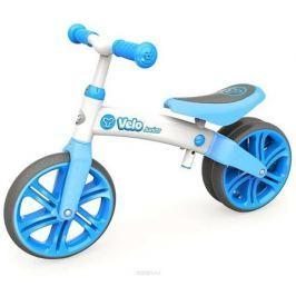 Y-Volution Беговел двухколесный Velo Junior с двойным колесом цвет голубой