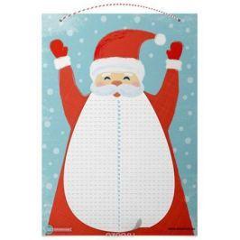 Cute'n Clever Адвент-календарь Дед Мороз с отрывной бородой