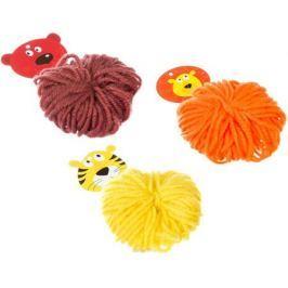 Bondibon Набор для изготовления игрушки Забавные зверушки! Лев Медведь Тигр
