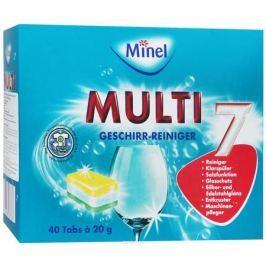 Таблетки для посудомоечных машин Minel