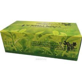 Monalisa Двухслойные салфетки для лица с экстрактом зеленого чая